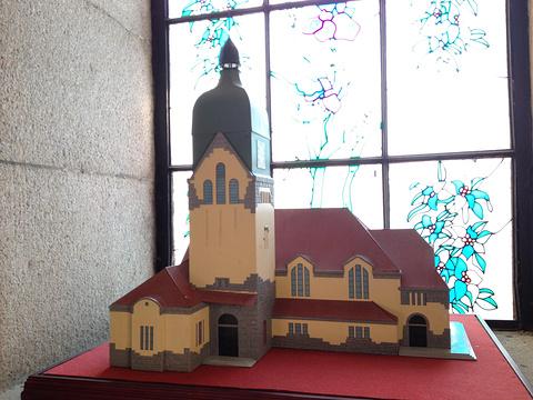 江苏路基督教堂旅游景点攻略图