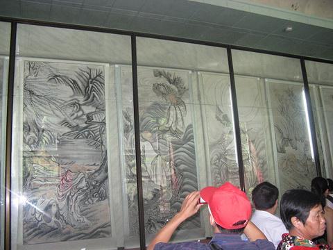 毛泽东遗物馆旅游景点攻略图