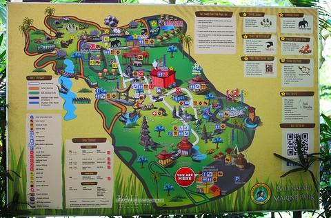 巴厘动物园旅游景点攻略图