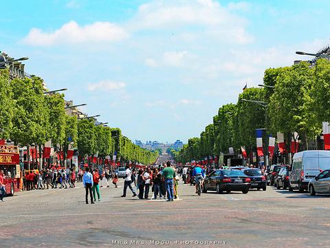 香榭丽舍大街旅游景点图片