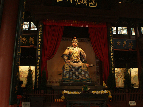 岳王庙景区旅游景点图片