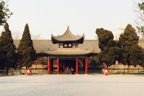 西安碑林博物馆旅游景点攻略图