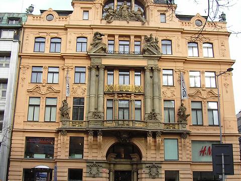 Václavské náměstí street旅游景点图片