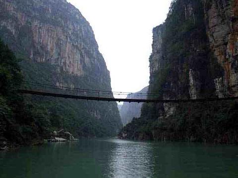 花江大峡谷旅游景点攻略图