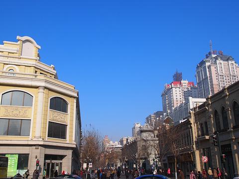 中央大街步行街旅游景点攻略图