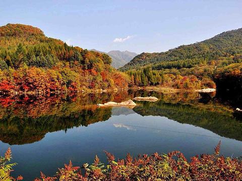 汤沟森林公园旅游景点图片