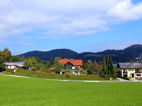 国王湖旅游景点图片