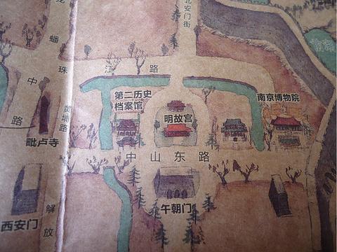 明故宫旅游景点攻略图