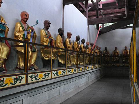 伏虎寺旅游景点图片