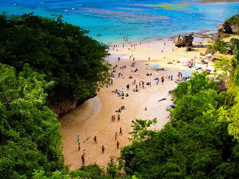 巴东海滩旅游景点图片