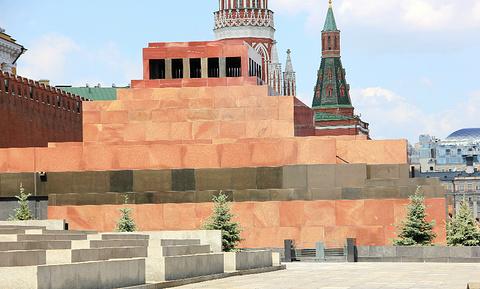 列宁墓的图片