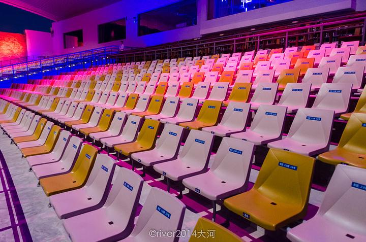 """""""...380个座位,根据位置的不同,分为了财富席,美丽席和智慧席,票价分别为218,298和498元_武夷水秀""""的评论图片"""