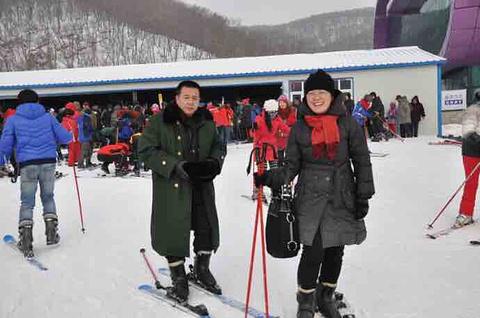 莲花山滑雪场旅游景点攻略图