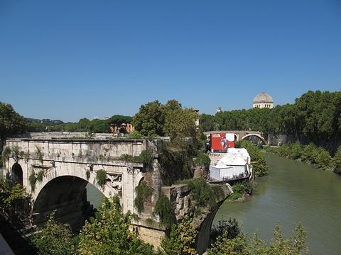Ponte Rotto & Cloaca Maxima旅游景点图片