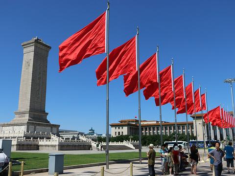 天安门广场旅游景点图片