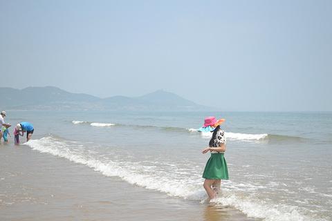 黄岛金沙滩旅游景点攻略图
