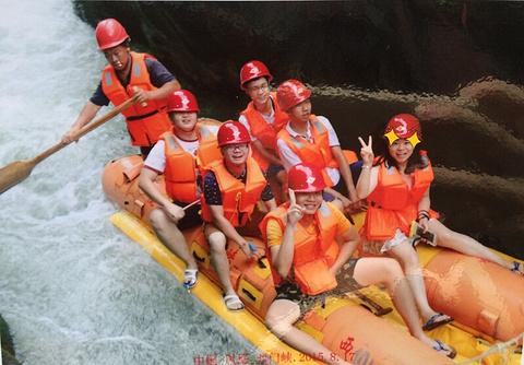 西门峡漂流旅游景点攻略图