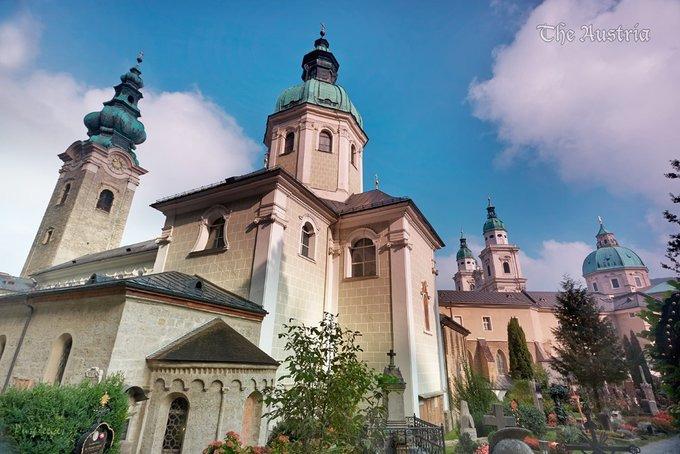 Petersfriedhof图片