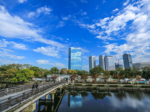 大阪城公园旅游景点图片