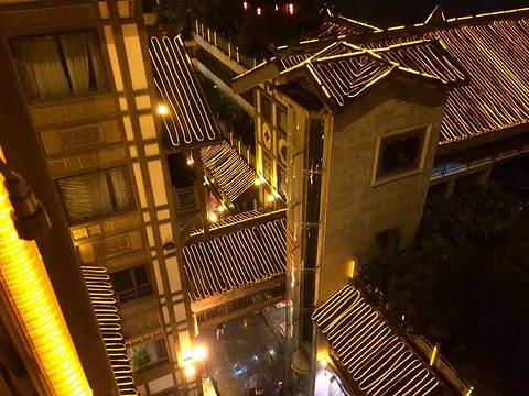 洪崖洞商业街旅游景点攻略图