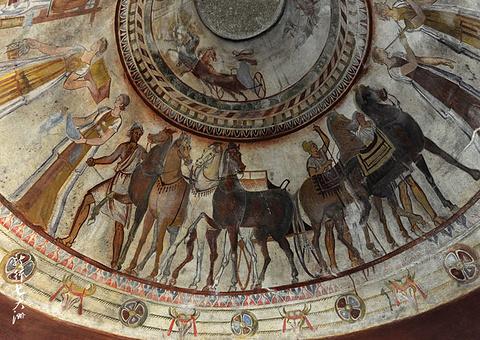 色雷斯古墓旅游景点攻略图