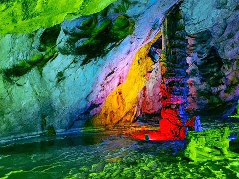 万象洞风景名胜区旅游景点图片