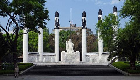 青年英雄纪念碑旅游景点攻略图