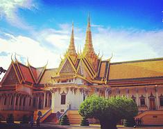 柬国七日--佛光普照
