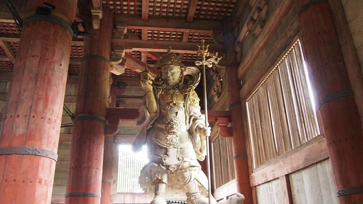 """""""东大寺是奈良最有名的寺庙之一_东大寺""""的评论图片"""