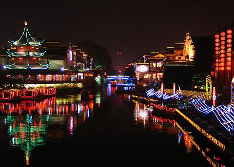 秦淮河的图片