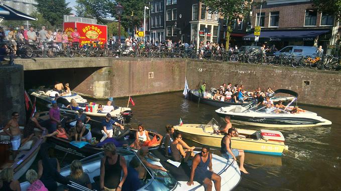 阿姆斯特丹运河图片