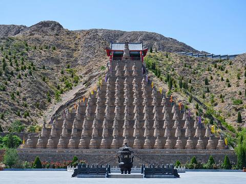 青铜峡108塔旅游景点图片