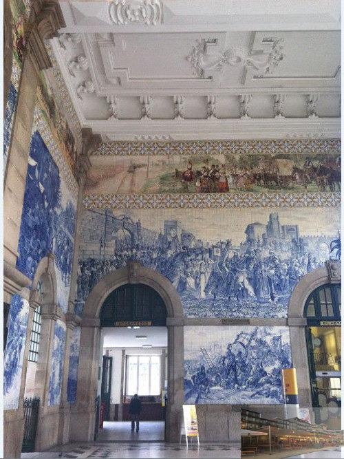 圣本笃火车站图片
