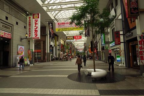 下通购物街旅游景点攻略图