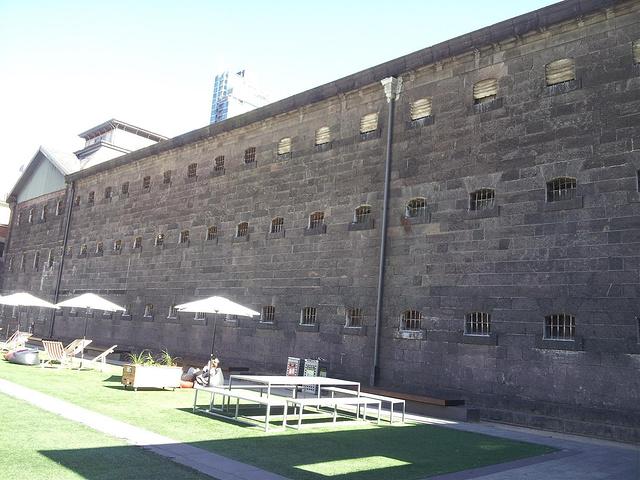 """""""墨尔本旧监狱是现存的最古老的维多利..._墨尔本旧监狱""""的评论图片"""