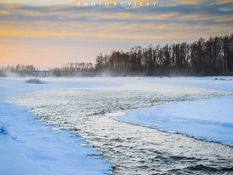 呼中自然保护区旅游景点图片