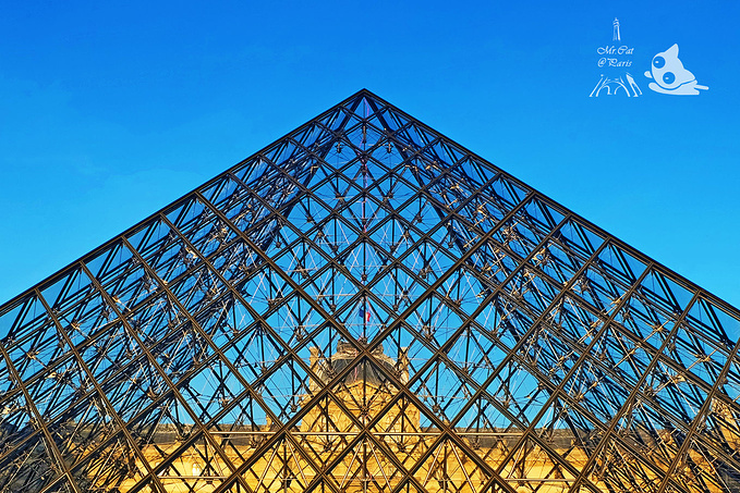卢浮宫玻璃金字塔图片