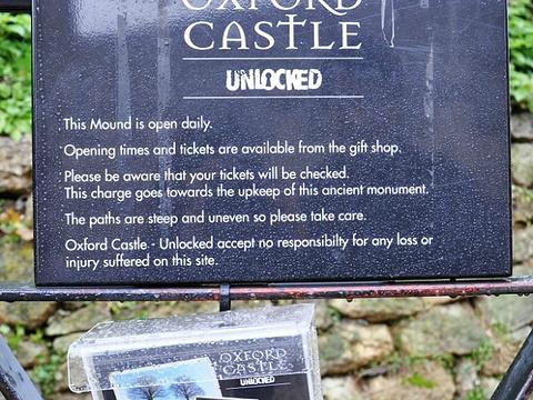 牛津城堡旅游景点图片