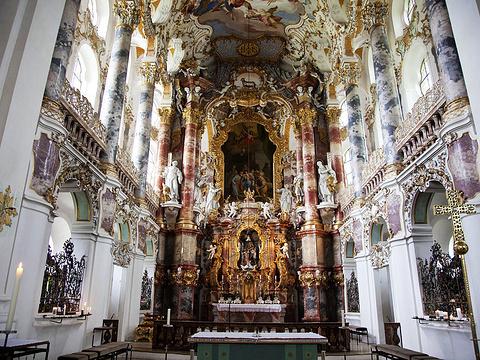 维斯朝圣教堂旅游景点图片