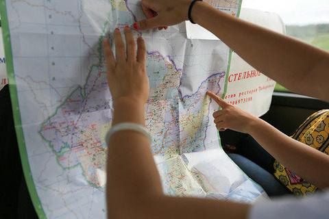 黑瞎子岛旅游景点攻略图