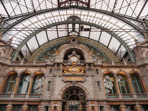 安特卫普中央火车站旅游景点图片
