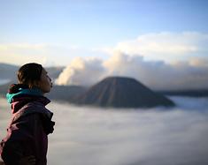 爪哇岛的那些活火山,go!