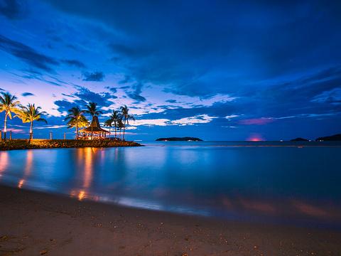 丹绒亚路海滩旅游景点图片