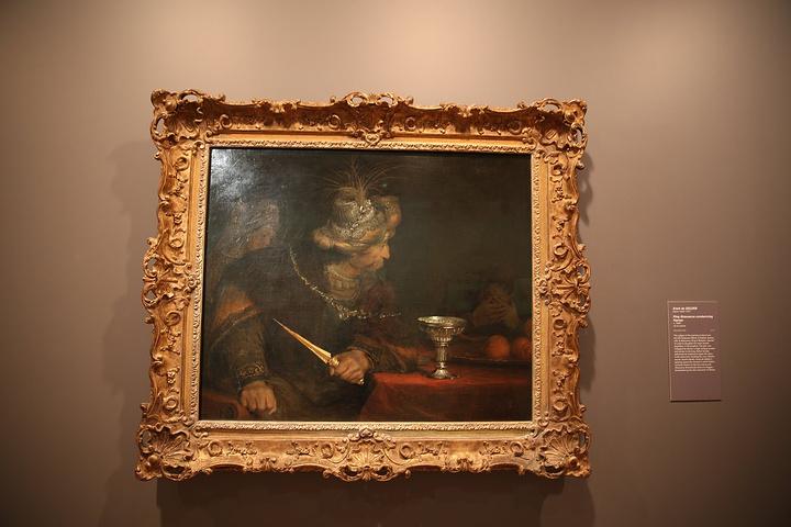 """""""下午自由活动,去了维多利亚美术馆NGV,..._伊恩·波特中心:澳大利亚维多利亚国家美术馆""""的评论图片"""