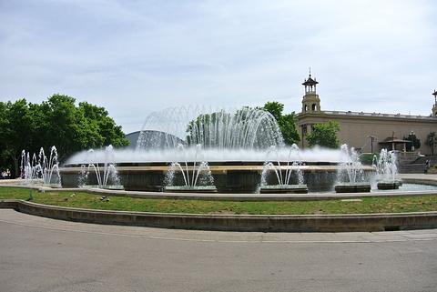 魔法喷泉旅游景点攻略图