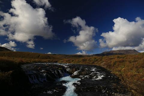 Bruarfoss Waterfall旅游景点攻略图