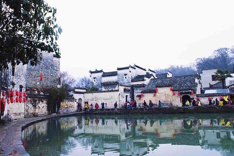 宏村旅游景点攻略图