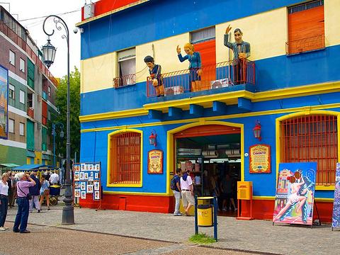Calle Museo Caminito旅游景点图片