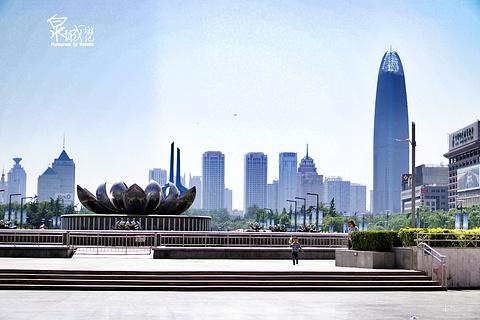泉城广场旅游景点攻略图