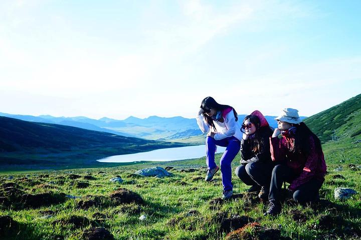 """""""在黑湖前后,有十多公里的漫长的草原和湖沼地区,而这仅仅属于整个千湖地区的一个小小的角落_千湖""""的评论图片"""